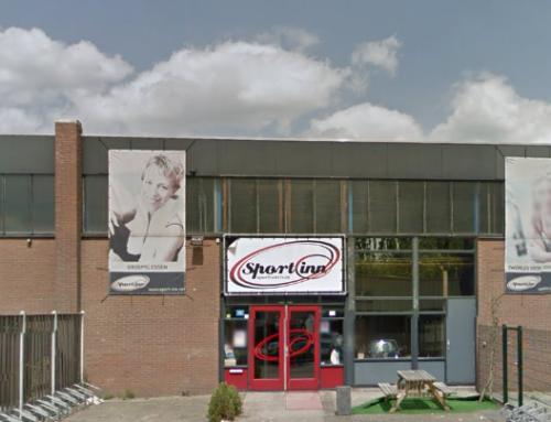 Bouwtekening Sport Inn Eindhoven