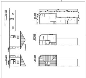 bouwtekening dakconstructie