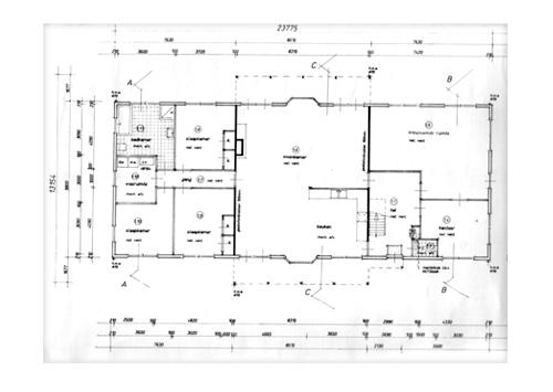 bouwtekening vergunningstekening